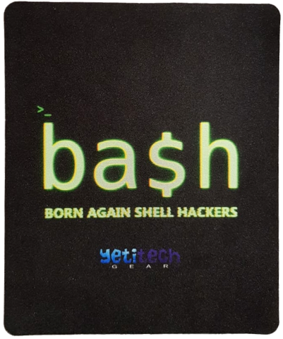 Bash mouse pad [vertical]