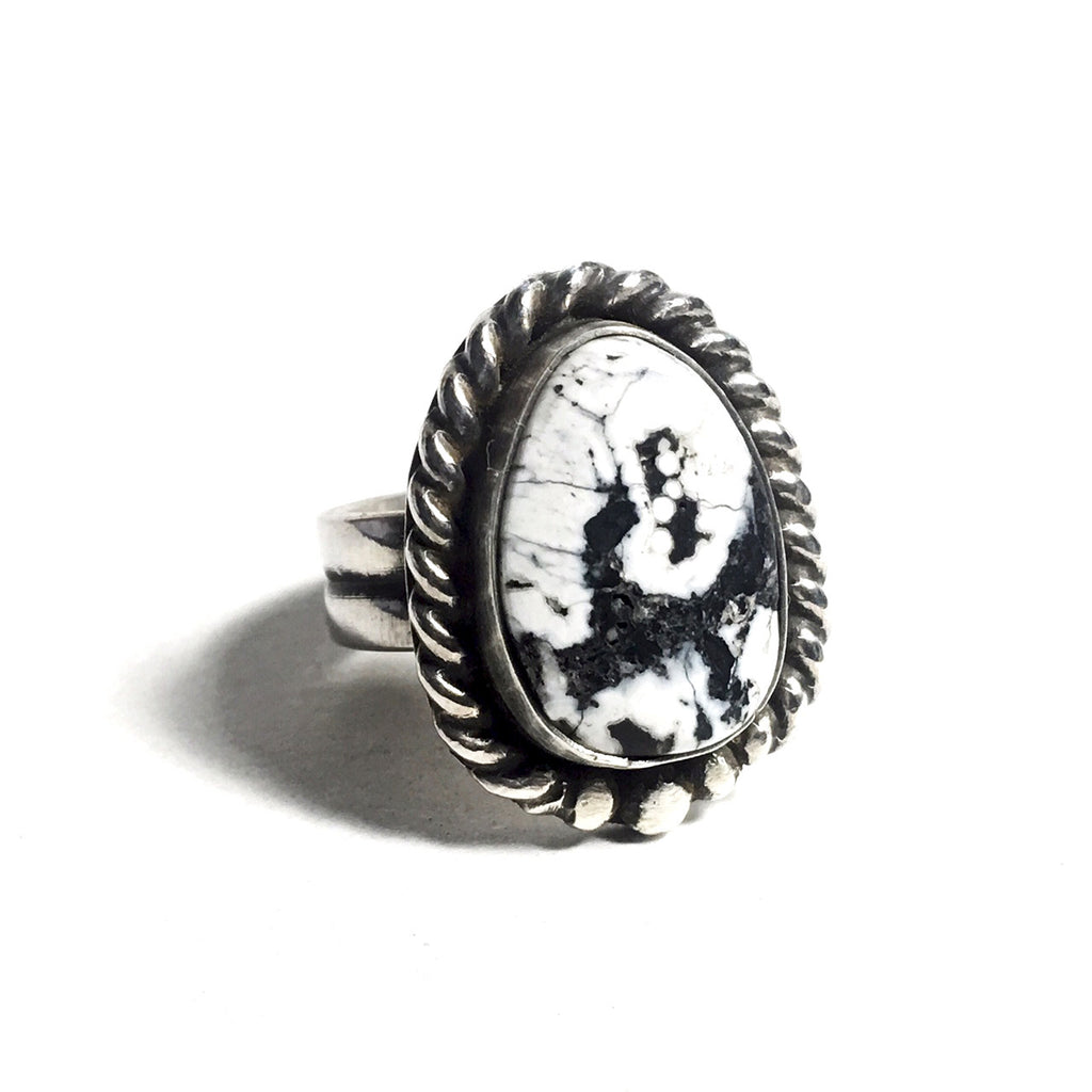White Buffalo Man Ring