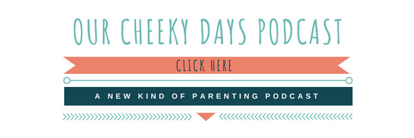 a new kind of parenting podcast by outside the box by cheeky days