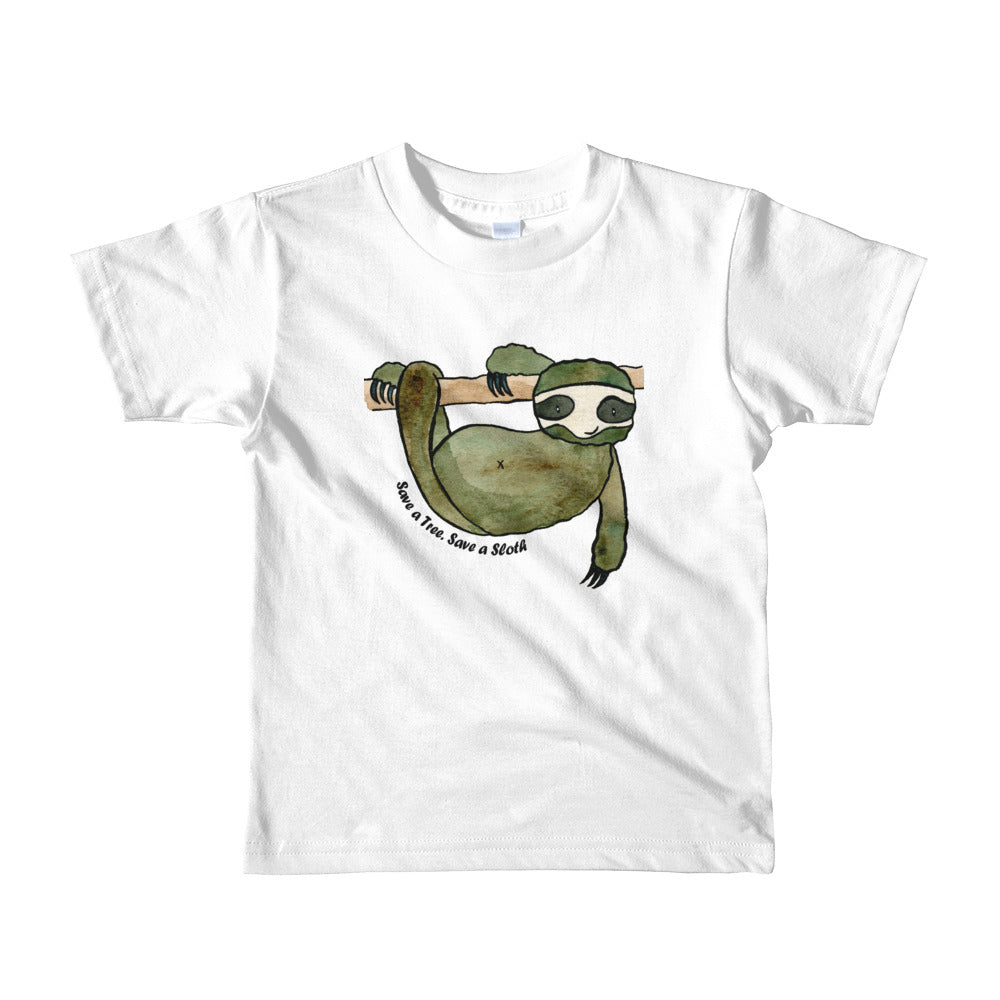 Save A Tree - Save A Sloth Tee