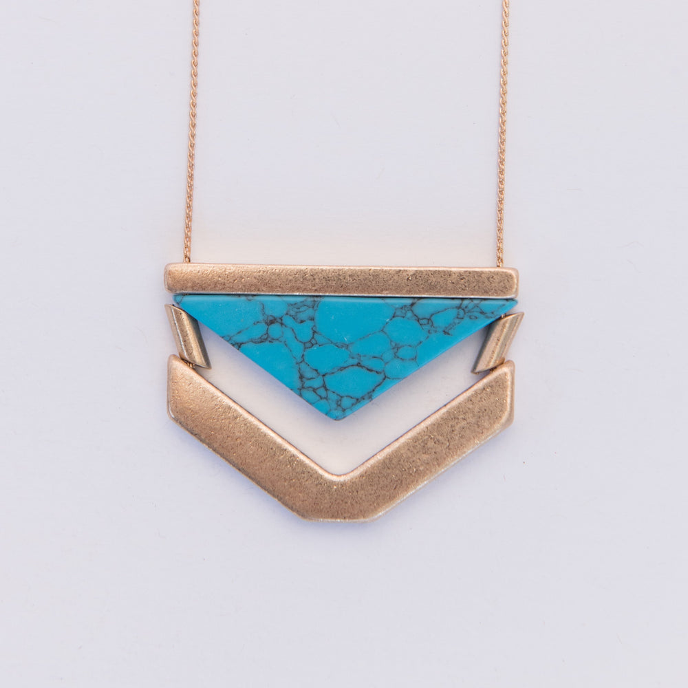 Maile Pendant Necklace