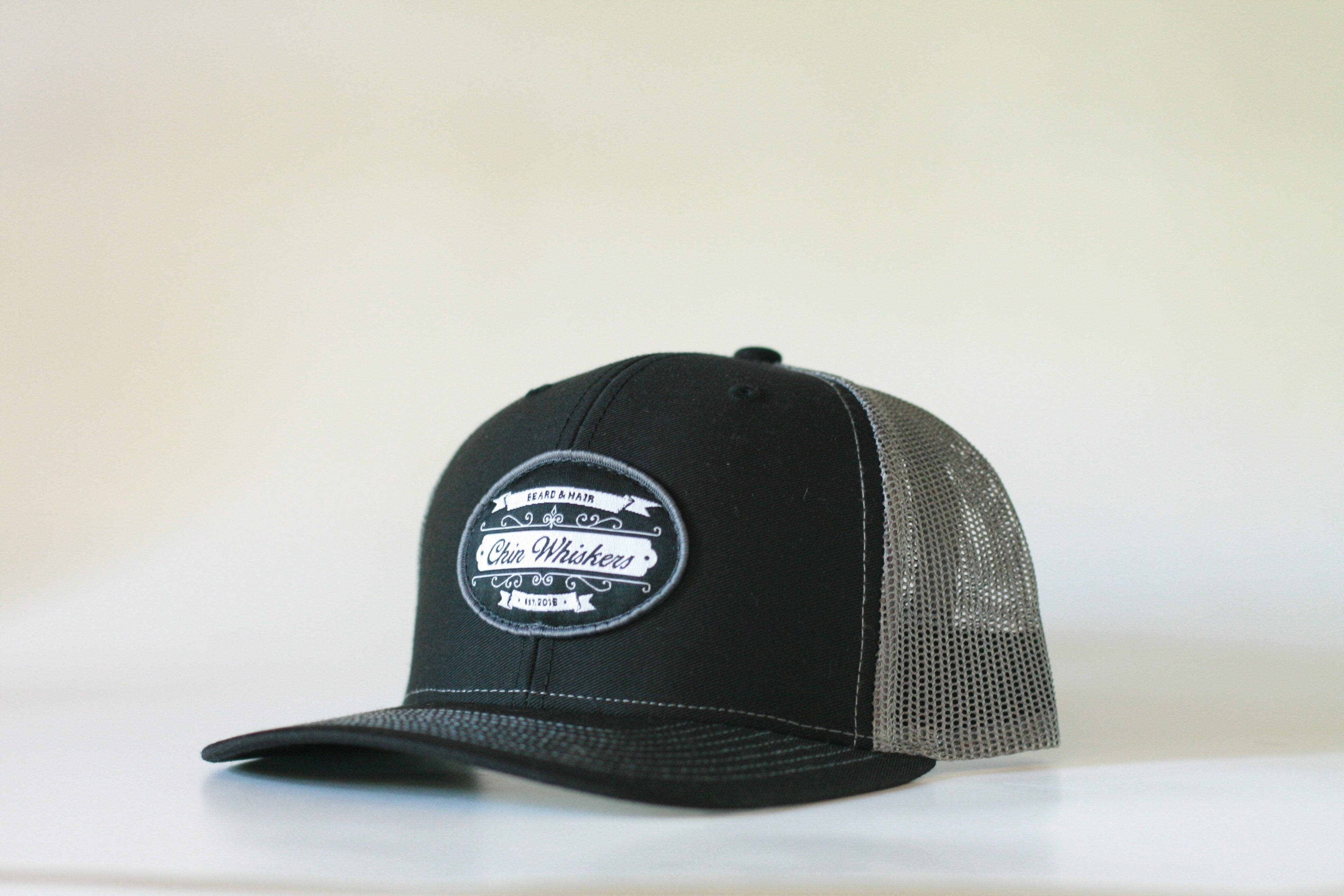 Chin Whiskers Flat Brim FlexFit Snapback - Chin Whiskers Grooming Co ac66f339ecb1