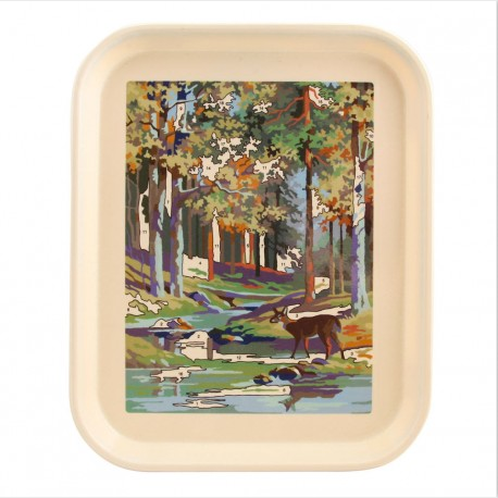 Deer Paint By Number Tray