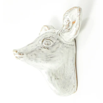 Yarnnakarn Ceramic Fawn Wall Hook