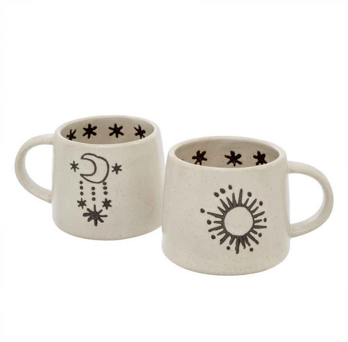 Stellar Double Sided Ceramic Mug