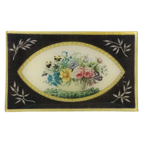 John Derian Flower Basket Tray