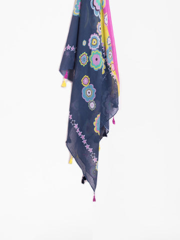 Moonage Cotton Tassel Scarf