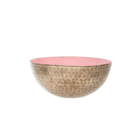 Solstice Statement Bowl, Blush