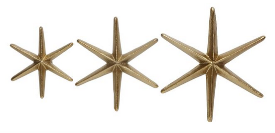 Gold Star Wall Hook