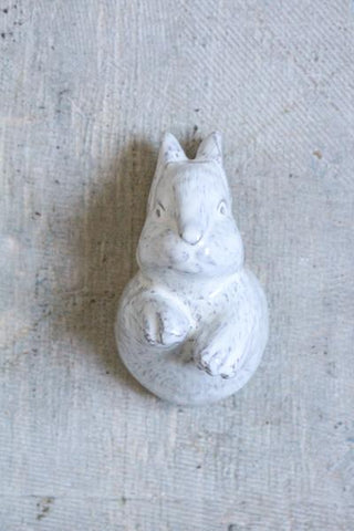 Yarnnakarn Ceramic Baby Rabbit Wall Hook