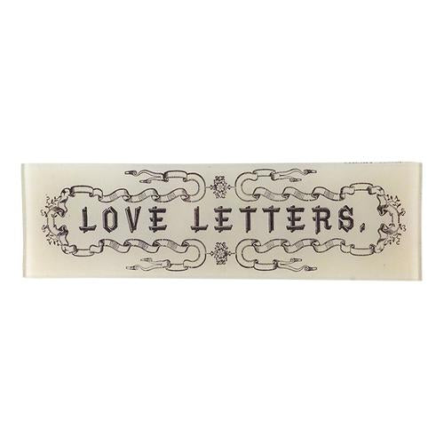 "Love Letters Tray 3.5"" x 12"""