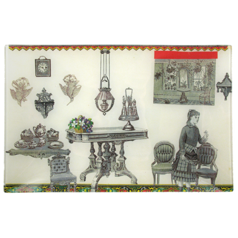 John Derian Tea Room Tray