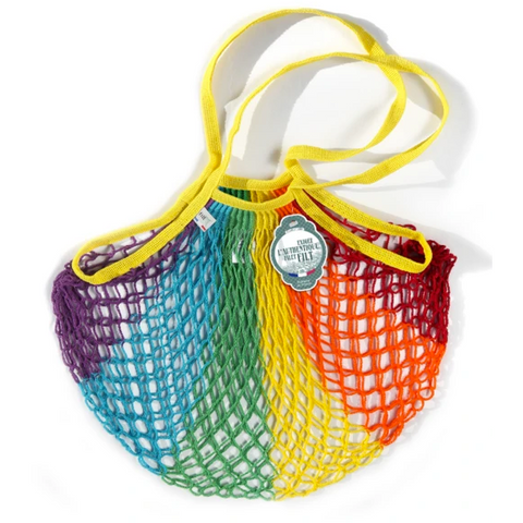 Expandable Net Cotton Filet Shopping Bags