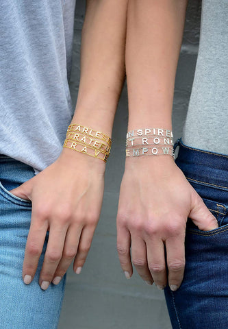 Empowered Word Bracelet