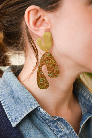 Fauvism Earrings
