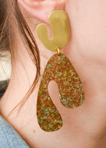 Fauvism Fall Earrings