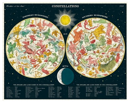 Constellations Vintage Puzzle