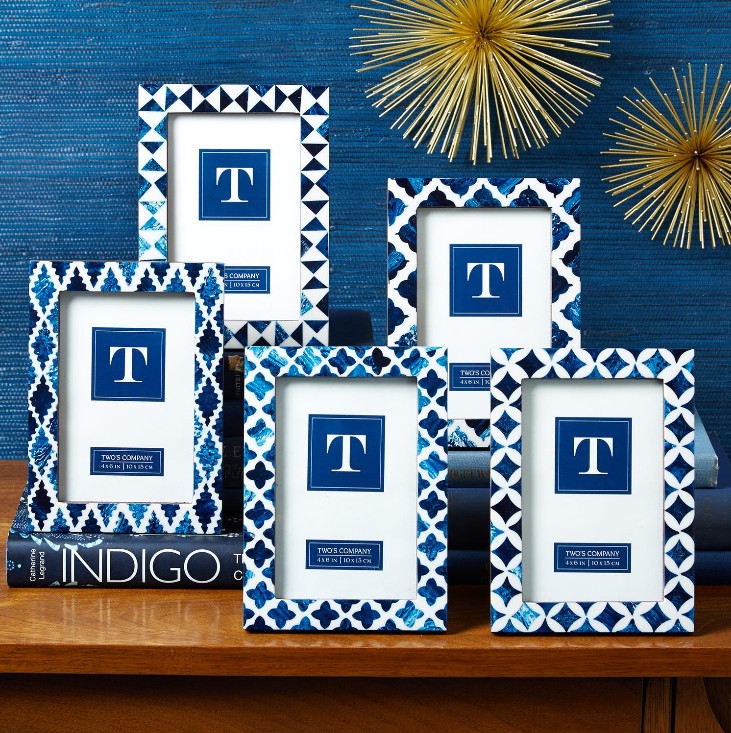 Indigo Photo Frame - 5 Styles