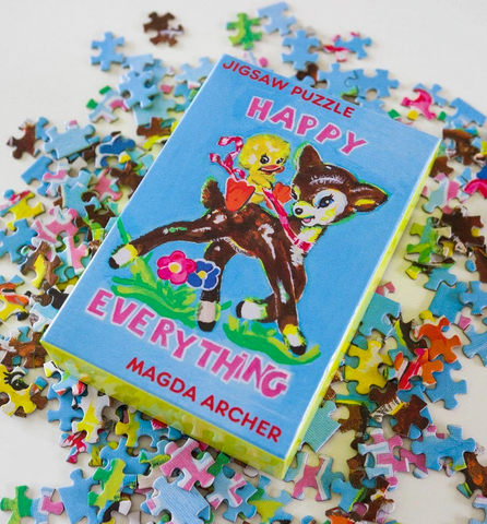 Happy Everything Jigsaw Puzzle x Magda Archer