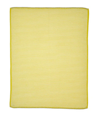 Little Boat Blanket Chartreuse
