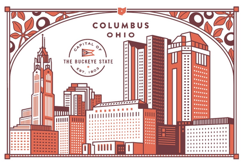Columbus Ohio Postcard