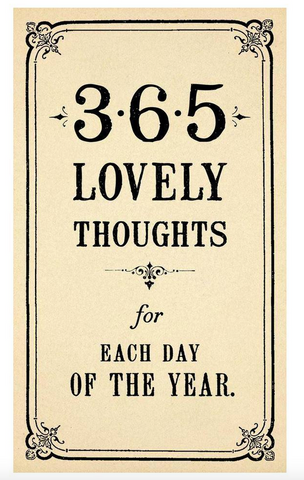 365 Lovely Thoughts by Sugarboo Designs