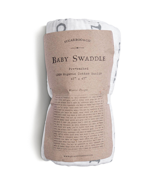 Sugarboo You Are My Sunshine Baby Swaddle