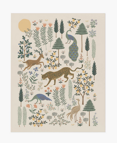 Rifle Paper Co. Menagerie Print