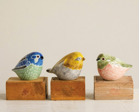 Hand-painted Ceramic Bird