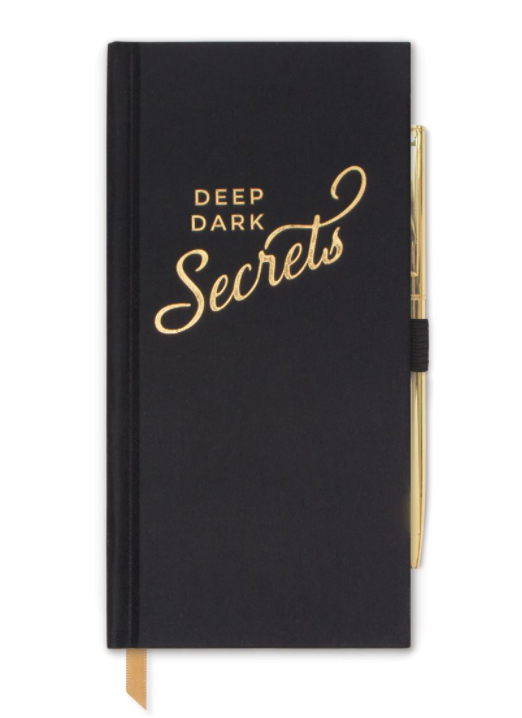"""Deep Dark Secrets"" Journal"