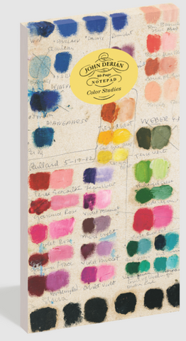 John Derian Color Studies Notepad