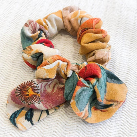 Knotted Bow Scrunchie
