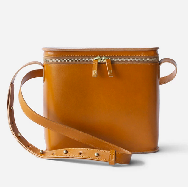 Structured Crossbody Radio Bag