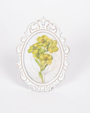 Ceramic Ornamental Oval Frame