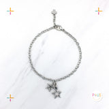 star charm bracelet with card