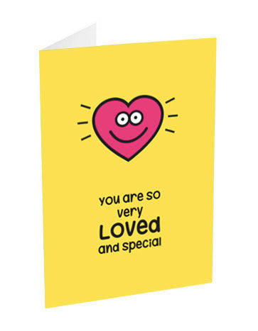 loved and special! card
