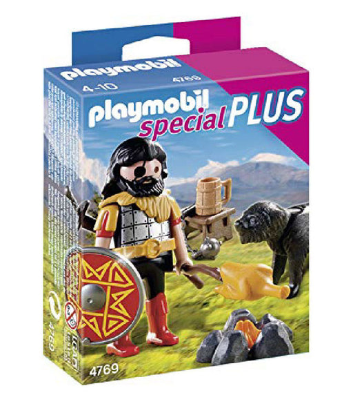 playmobil special plus - barbarian with dog