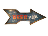 beer bar retro sign