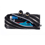 monster pouch black & silver