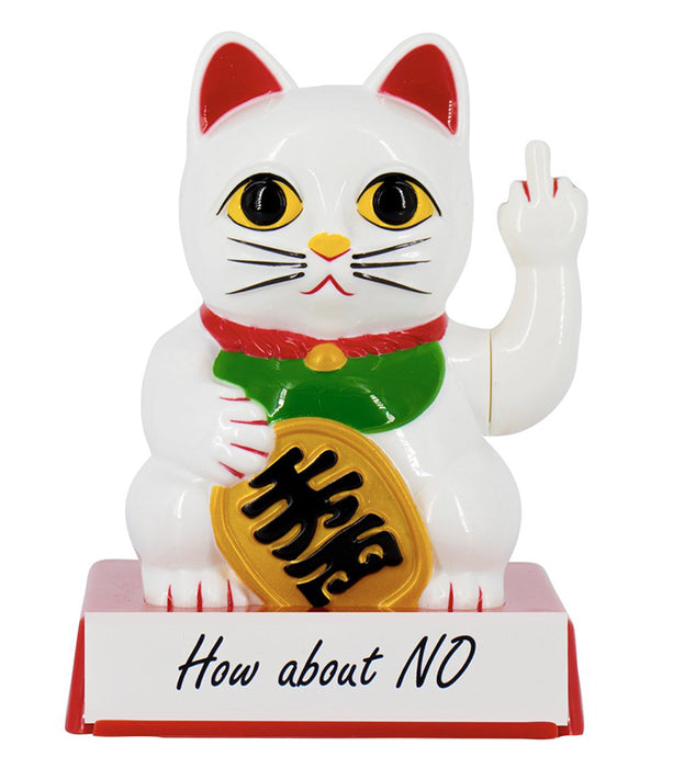 lucky cat with attitude