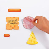 cheese sticky notes