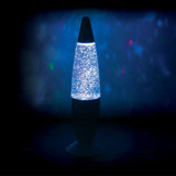 colour changing glitter lamp