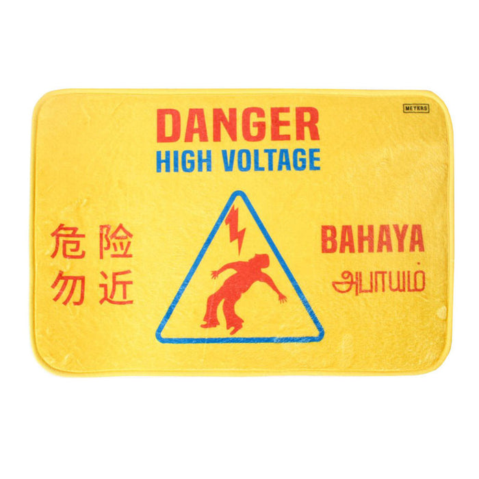 high voltage doormat