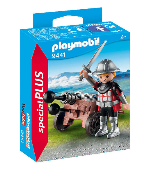 playmobil special plus - knight with cannon