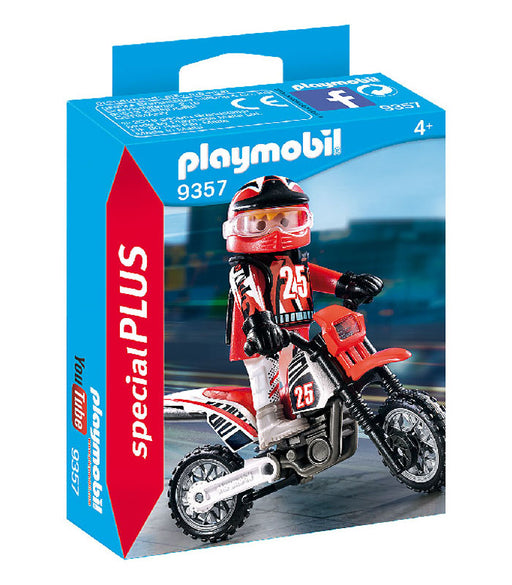 playmobil special plus - motocross driver