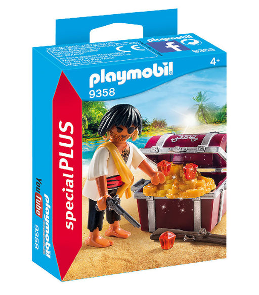 playmobil special plus - pirate with treasure