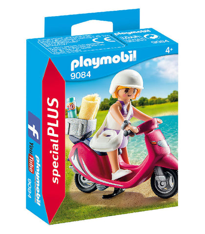playmobil special plus - beachgoer with scooter