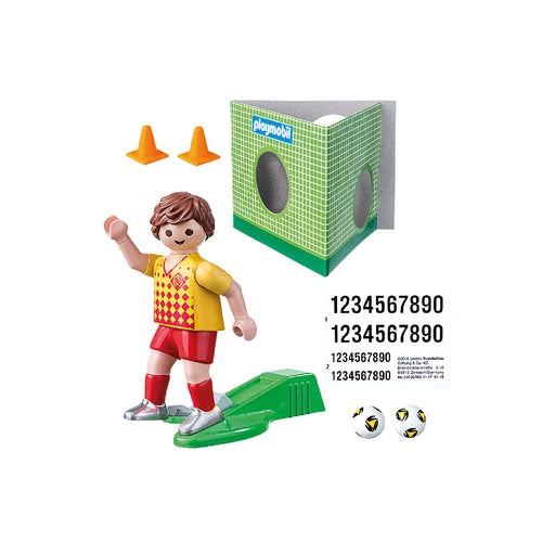 playmobil special plus - soccer player with goal
