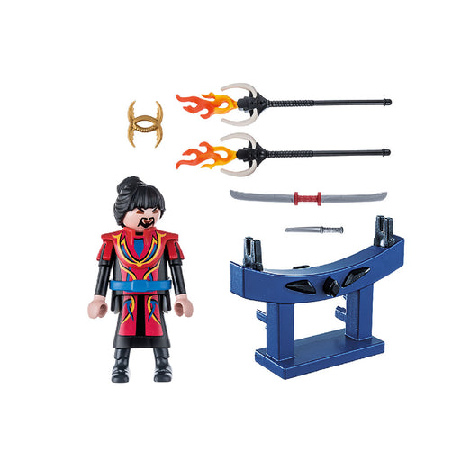 playmobil special plus - warrior with weapons