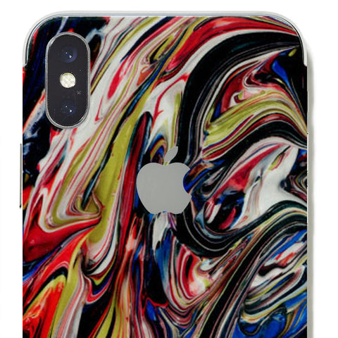 abstract paint skin